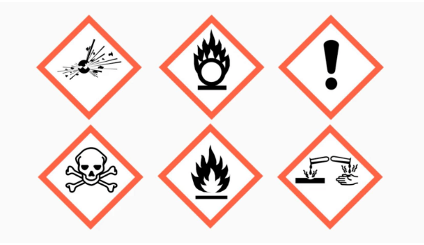 COSHH - substances hazardous to health Course Certificate Example | eLearning