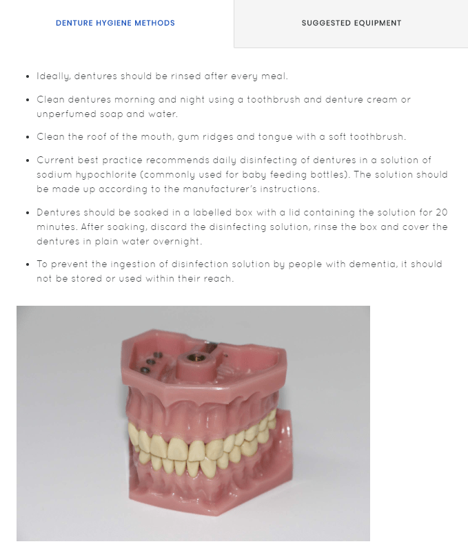 Oral Health Care Course | Social Care eLearning Courses and Training