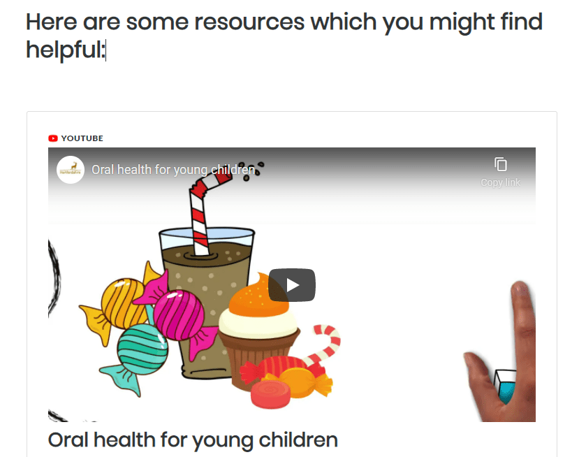 Support CYP to manage their health screenshot 2